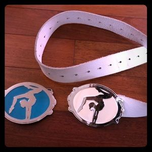 Accessories - Belt with gymnastic buckles